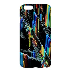 Abstract 3d Blender Colorful Apple Iphone 6 Plus/6s Plus Hardshell Case