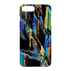 Abstract 3d Blender Colorful Apple Iphone 8 Plus Hardshell Case