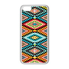 African Tribal Patterns Apple Iphone 5c Seamless Case (white)
