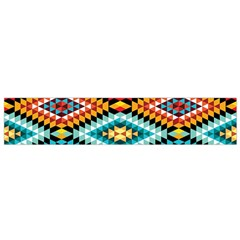 African Tribal Patterns Small Flano Scarf