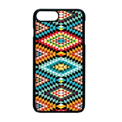 African Tribal Patterns Apple Iphone 7 Plus Seamless Case (black)