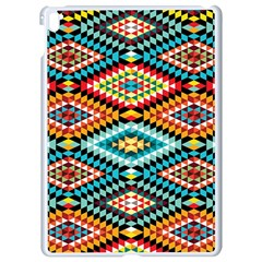 African Tribal Patterns Apple Ipad Pro 9 7   White Seamless Case