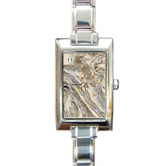 Background Structure Abstract Grain Marble Texture Rectangle Italian Charm Watch
