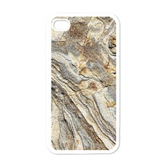 Background Structure Abstract Grain Marble Texture Apple Iphone 4 Case (white)