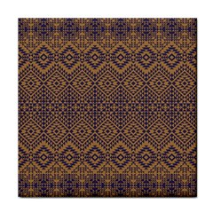 Aztec Pattern Tile Coasters by Samandel