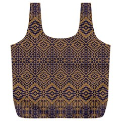 Aztec Pattern Full Print Recycle Bag (xl)