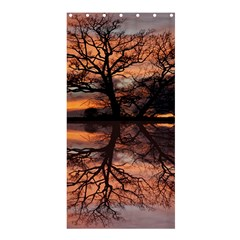Aurora Sunset Sun Landscape Shower Curtain 36  X 72  (stall)