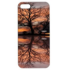 Aurora Sunset Sun Landscape Apple Iphone 5 Hardshell Case With Stand by Samandel