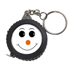 Happy Face With Orange Nose Vector File Measuring Tape