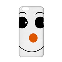 Happy Face With Orange Nose Vector File Apple Iphone 6/6s Hardshell Case by Samandel