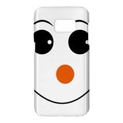 Happy Face With Orange Nose Vector File Samsung Galaxy S7 Hardshell Case