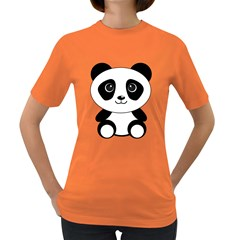 Bear Panda Bear Panda Animals Women s Dark T Shirt
