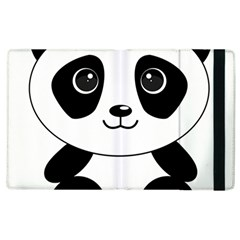 Bear Panda Bear Panda Animals Apple Ipad 3/4 Flip Case by Samandel