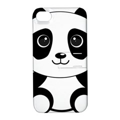 Bear Panda Bear Panda Animals Apple Iphone 4/4s Hardshell Case With Stand