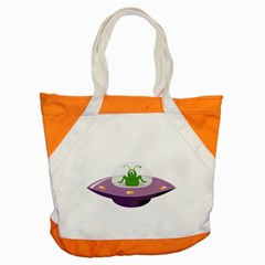 Ufo Accent Tote Bag by Samandel