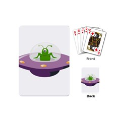 Ufo Playing Cards (mini) by Samandel