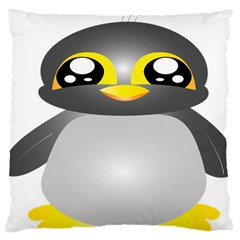 Cute Penguin Animal Standard Flano Cushion Case (two Sides) by Samandel