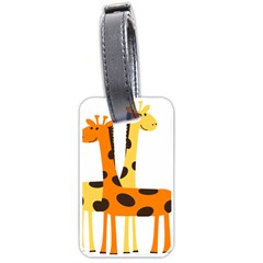 Giraffe Africa Safari Wildlife Luggage Tags (two Sides)