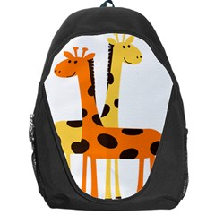 Giraffe Africa Safari Wildlife Backpack Bag by Samandel