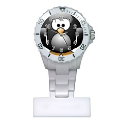 Penguin Birds Aquatic Flightless Plastic Nurses Watch