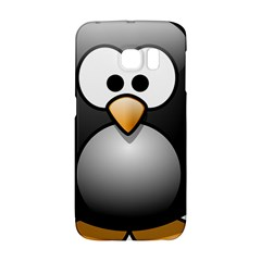 Penguin Birds Aquatic Flightless Samsung Galaxy S6 Edge Hardshell Case