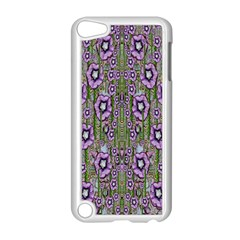 Jungle Fantasy Flowers Climbing To Be In Freedom Apple Ipod Touch 5 Case (white) by pepitasart