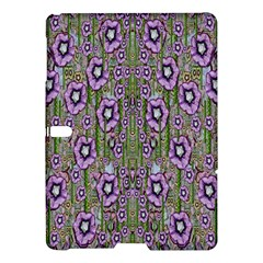 Jungle Fantasy Flowers Climbing To Be In Freedom Samsung Galaxy Tab S (10 5 ) Hardshell Case  by pepitasart