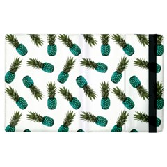 Pinapples Teal Apple Ipad 2 Flip Case by snowwhitegirl