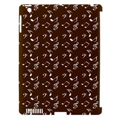 Brown Music Apple Ipad 3/4 Hardshell Case (compatible With Smart Cover) by snowwhitegirl