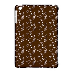 Brown Music Apple Ipad Mini Hardshell Case (compatible With Smart Cover) by snowwhitegirl