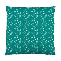 Teal Music Standard Cushion Case (one Side)
