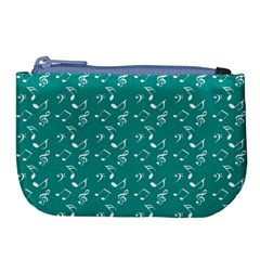 Teal Music Large Coin Purse