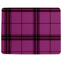 Violet Plaid Jigsaw Puzzle Photo Stand (rectangular) by snowwhitegirl