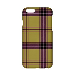 Beige Purple Plaid Apple Iphone 6/6s Hardshell Case by snowwhitegirl