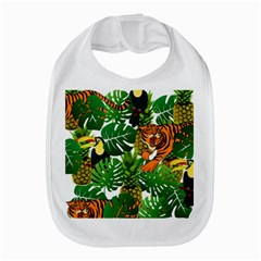 Tropical Pelican Tiger Jungle Bib by snowwhitegirl