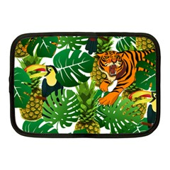 Tropical Pelican Tiger Jungle Netbook Case (medium) by snowwhitegirl