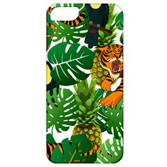 Tropical Pelican Tiger Jungle Apple Iphone 5 Classic Hardshell Case by snowwhitegirl