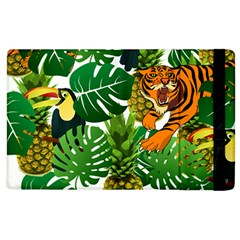Tropical Pelican Tiger Jungle Apple Ipad 3/4 Flip Case by snowwhitegirl
