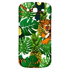 Tropical Pelican Tiger Jungle Samsung Galaxy S3 S Iii Classic Hardshell Back Case by snowwhitegirl