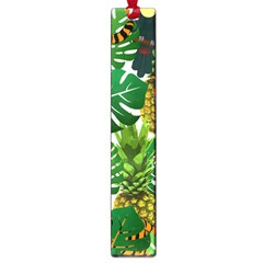 Tropical Pelican Tiger Jungle Large Book Marks by snowwhitegirl