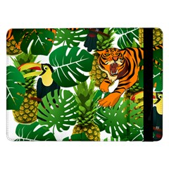 Tropical Pelican Tiger Jungle Samsung Galaxy Tab Pro 12 2  Flip Case by snowwhitegirl