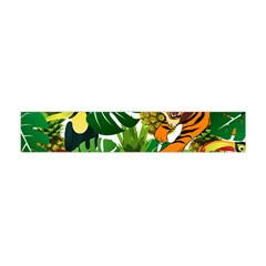 Tropical Pelican Tiger Jungle Flano Scarf (mini) by snowwhitegirl
