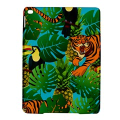 Tropical Pelican Tiger Jungle Blue Ipad Air 2 Hardshell Cases by snowwhitegirl