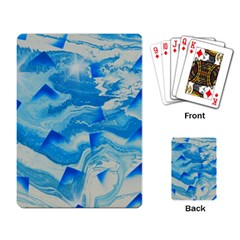 Space Fracture Playing Cards Single Design