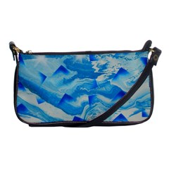 Space Fracture Shoulder Clutch Bag by WILLBIRDWELL