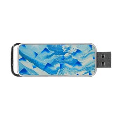 Space Fracture Portable Usb Flash (two Sides)