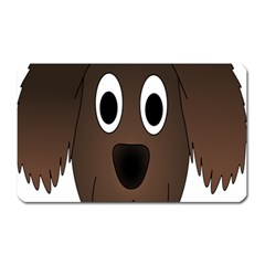 Dog Pup Animal Canine Brown Pet Magnet (rectangular) by Samandel