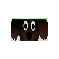 Dog Pup Animal Canine Brown Pet Cosmetic Bag (xs) by Samandel