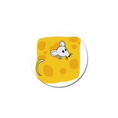 Rat Mouse Cheese Animal Mammal Golf Ball Marker (4 Pack)