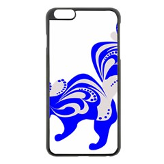 Skunk Animal Still From Apple Iphone 6 Plus/6s Plus Black Enamel Case